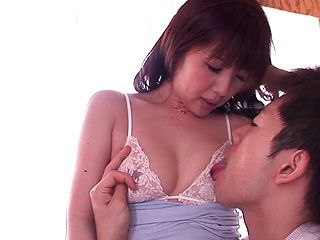 Yuki Misa naughty Asian milf enjoys younger cock to fuck