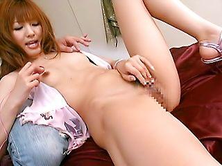 Sexy Kotone Aisaki receives a nasty creampie!