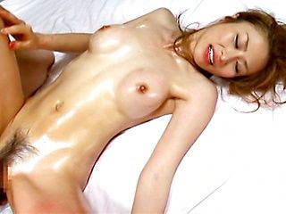 Tied up MILF Akari Asahina pleases two guys with her holes