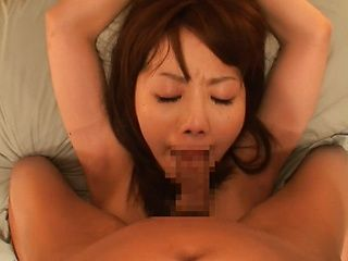 Young Japanese prostitute is having faced fuck and tied up sex