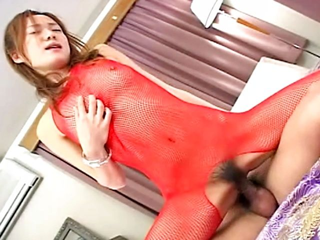 Kinky Japanese model swallows piles of cum