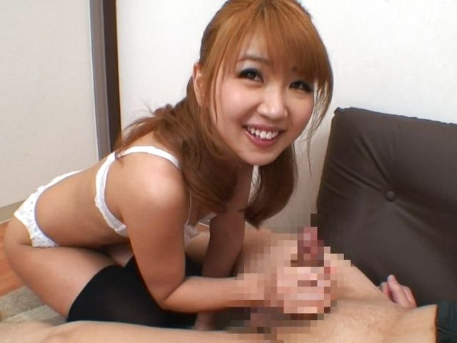 Flirty Teen Rion Ogura Sucks Off Strangers For Their Jizz