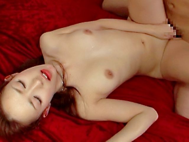 Hot Japanese babe pussy drillled!