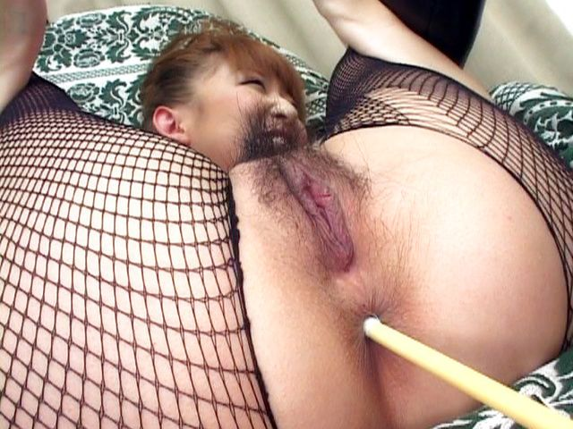 Milf in sexy lingerie Aya Sakaki gets anal fingered and pussy banged