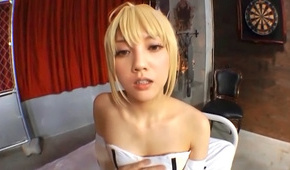 Japanese doll enjoying full asian pov cosplay fuck scene