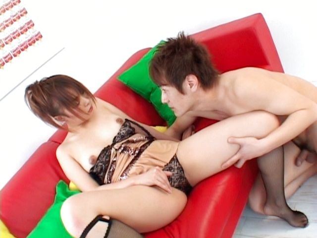 Rin Aoyama Wears Sexy Lingerie To Entice Him To Fuck