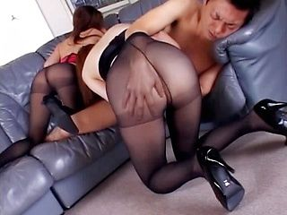 Amazing mature Asian chick gets a fucking
