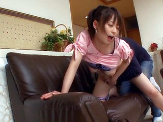 Noizumi Hazuki Asian doll has hot sex!