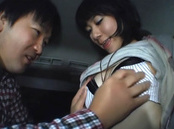 Car sex with horny Japanese milf in heats