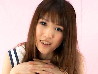 Japanese student is sweet young lady