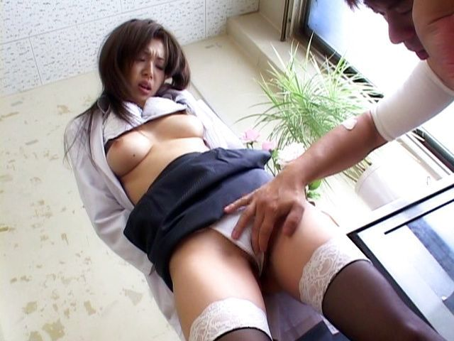Mai Hanano Sexy Japanese teacher